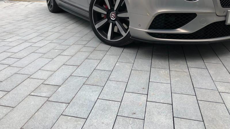 Marshalls Sawn Granite Setts block paving in Light