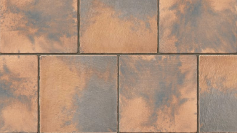 Marshalls Firedstone Paving Swatch in Autumn Colour