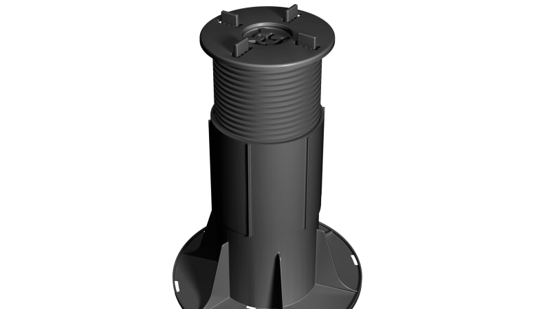 marshalls fixed head pedestal for roof terraces or balconies