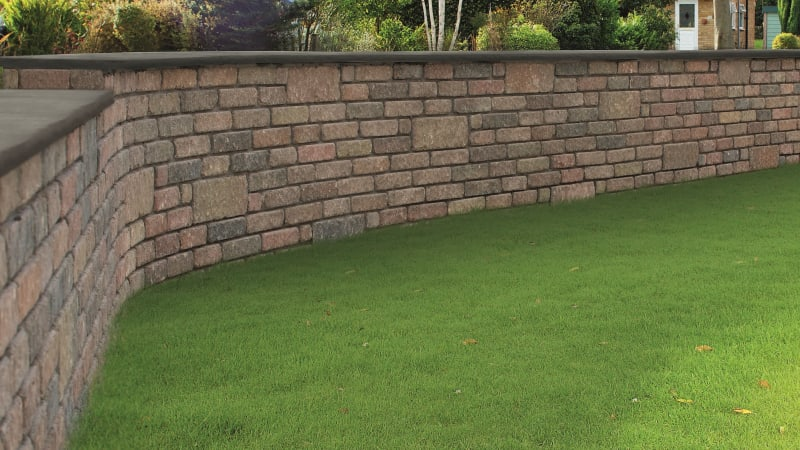 Marshalls Heritage Coping in Old Yorkstone