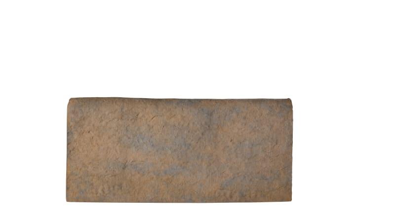 Marshalls Hewnstone edging in autumn bronze.