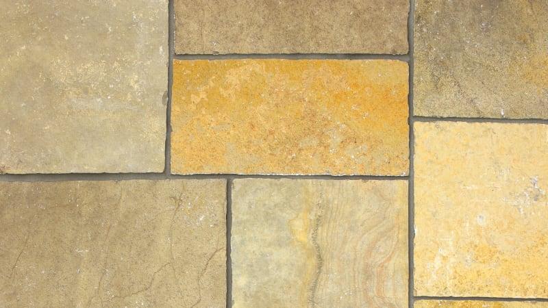 Marshalls Limestone Aluri in Rustic Ochre Multi.