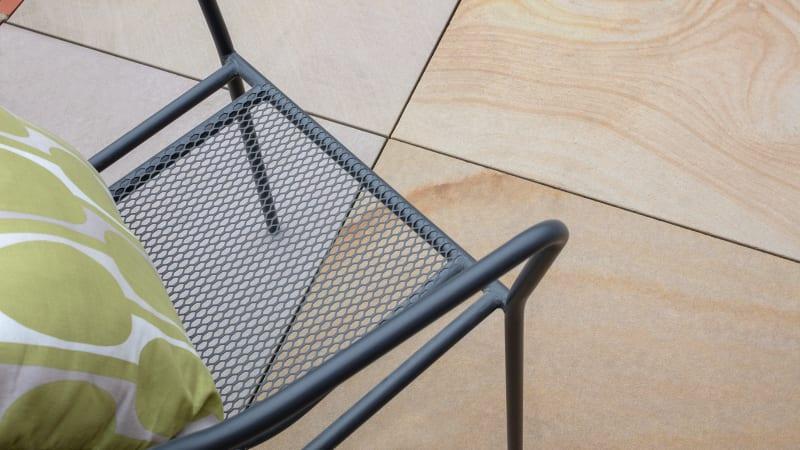Marshalls patio pedestals in black