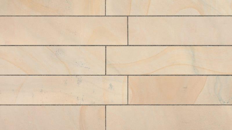 Marshalls Sawn Versuro Linear in Golden Sand Multi.