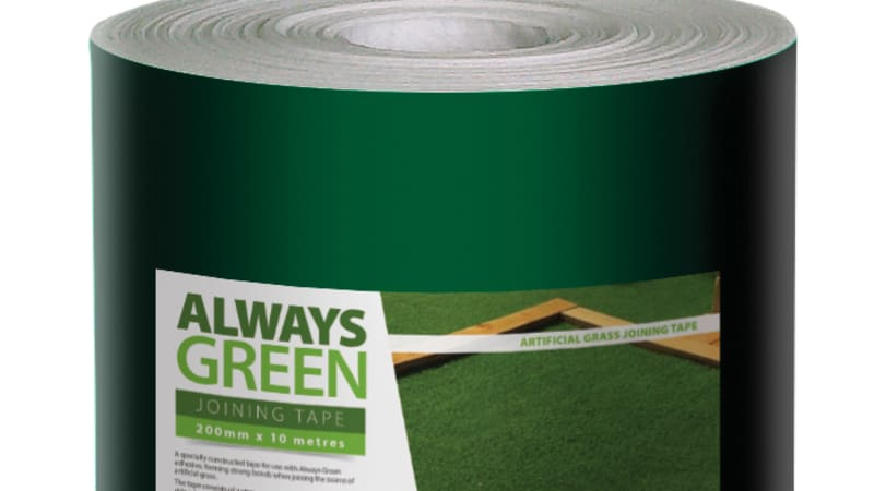 Marshalls Always Green jointing tape in green.