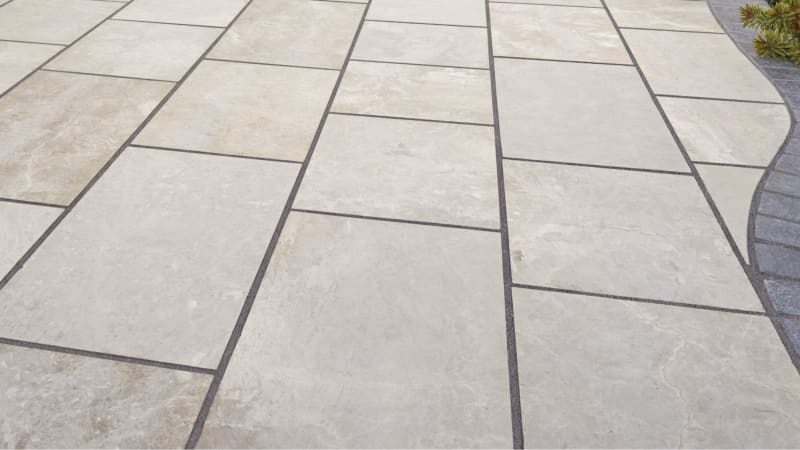 Marshalls Exterior Jointing Grout in charcoal