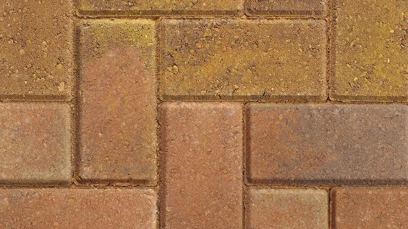 Marshalls Standard Block paving in bracken.