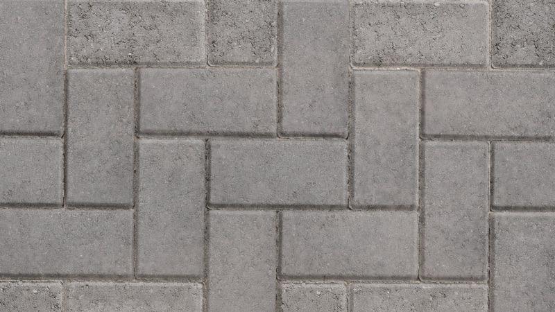 Marshalls Standard block paving in charcoal.