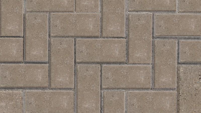 Marshalls Standard block paving in natural.