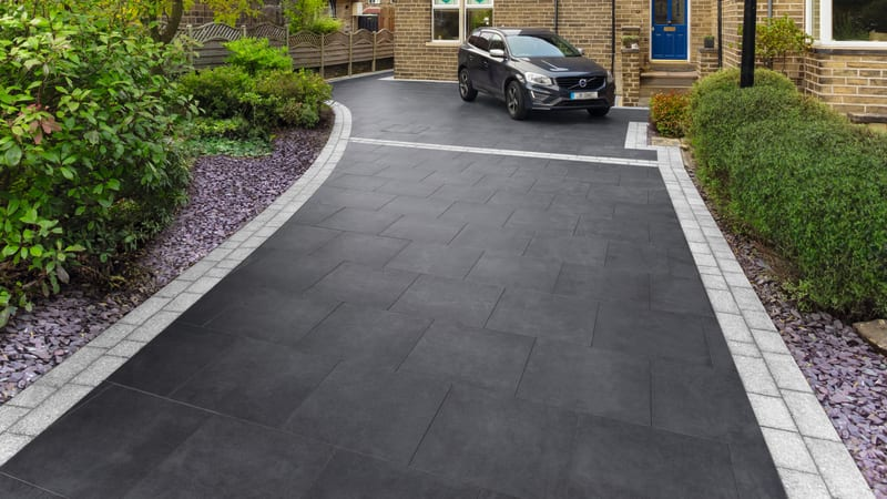 Marshalls Symphony Plus Driveway in charcoal