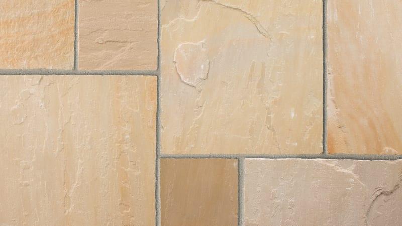 Indian Sandstone - Buff Multi