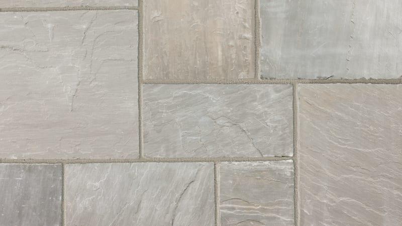 Indian Sandstone - Grey Multi