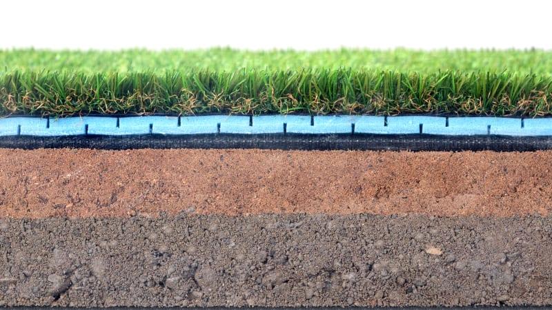 Always Green - Artificial Grass Membrane - Black