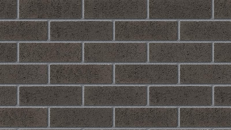 contemporary range basalt grey facing brick