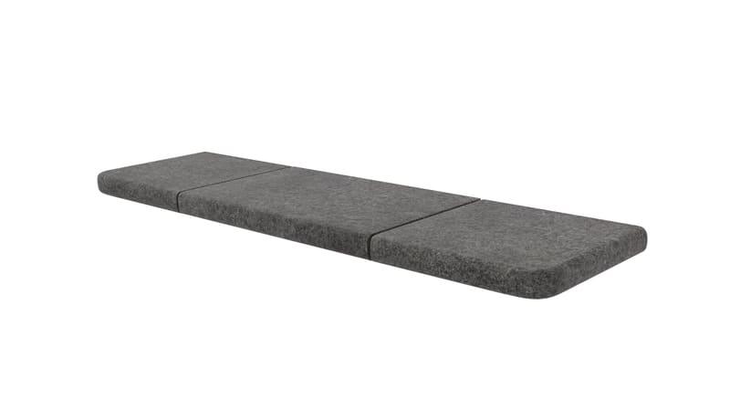 Granite Eclipse Bullnose Steps - Graphite