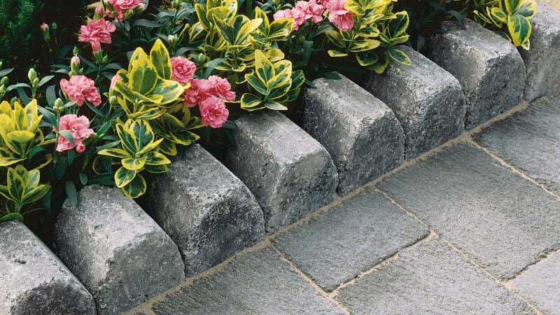 Drivesett 4 In 1 Kerb - Pennant Grey