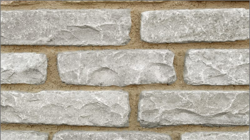 Tumbled Natural Stone Walling - Silver Birch