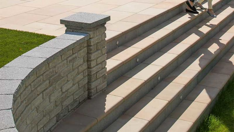 Sawn Versuro Steps - Autumn Bronze Multi