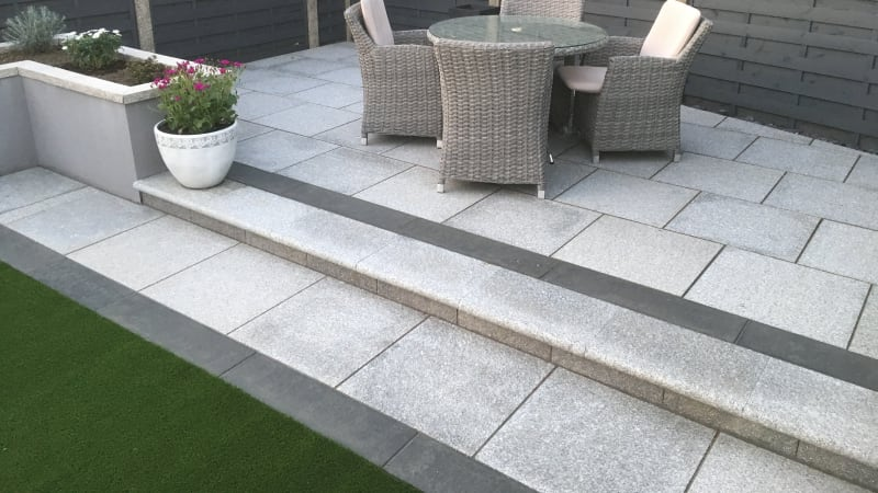 Granite Eclipse Steps - Light