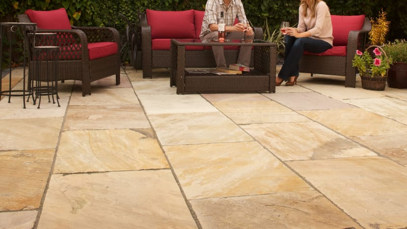 Indian Sandstone - Buff