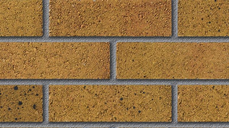 fairway kenfig sunrise perforated facing brick swatch panel
