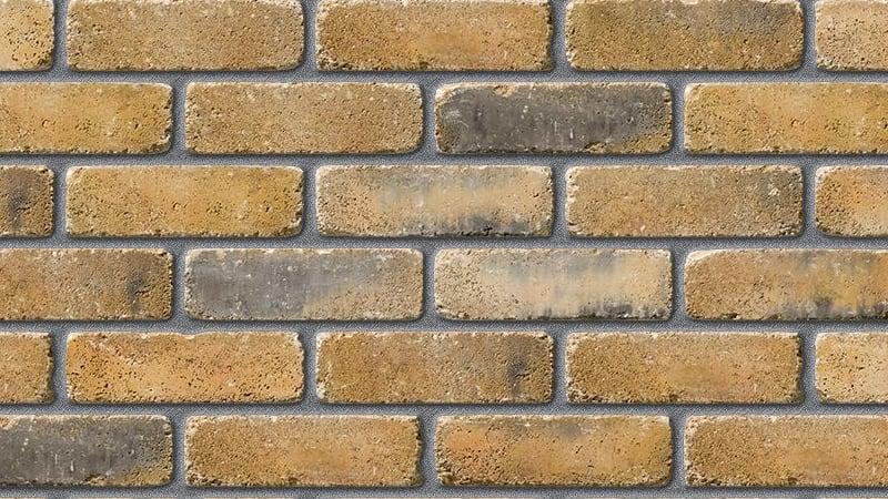 sandstock kensington vintage stock frogged facing brick