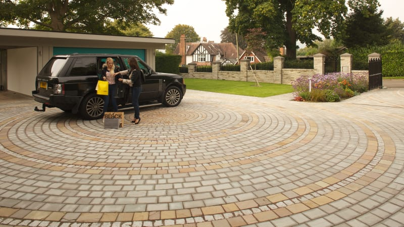 Driveways Setts - Autumn Bronze