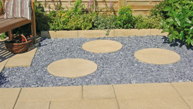 Richmond - Garden Paving - Buff