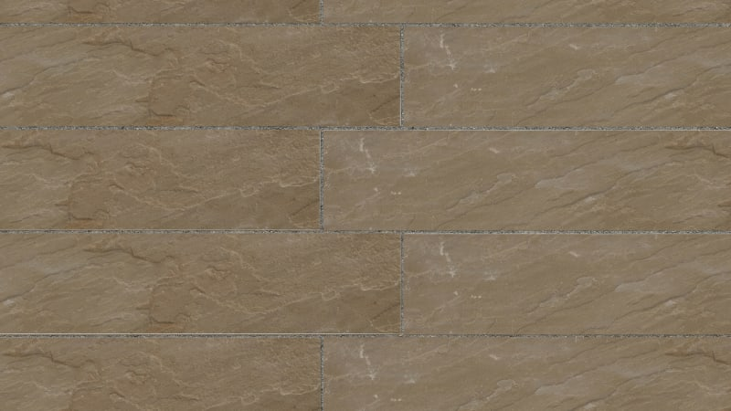 Riven Harena Linear Paving - Autumn Bronze Multi
