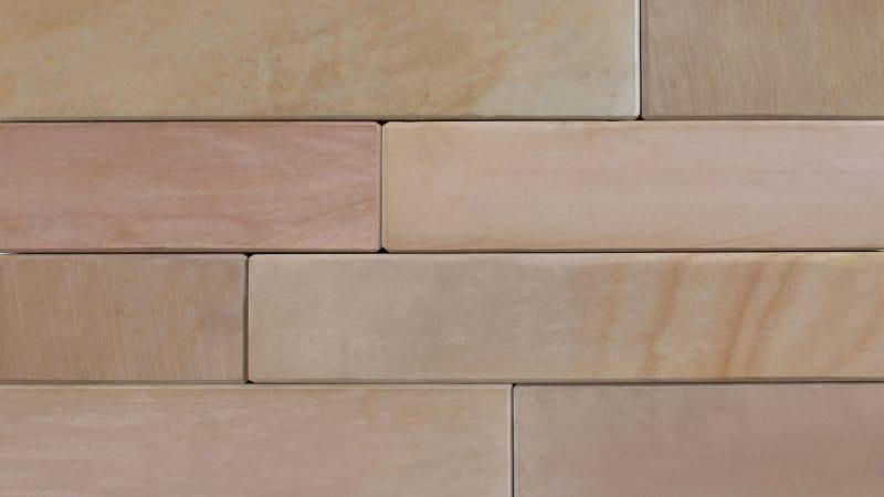 Stoneface Sawn Veneer Walling - Autumn Bronze Multi