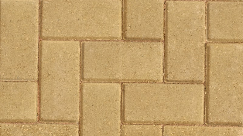 Standard Block Paving - Buff