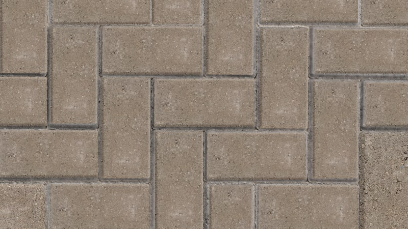Standard Block Paving - Natural