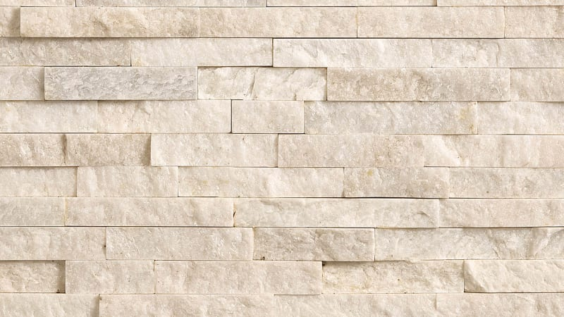 Stoneface Drystack Walling - Oyster Quartzite
