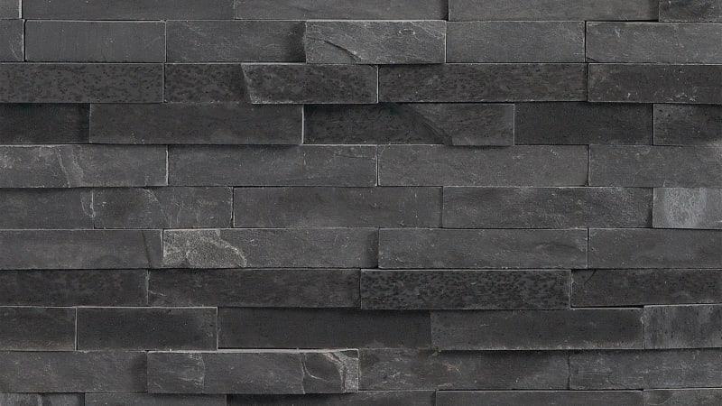 Stoneface Drystack Walling - Slate Dusk
