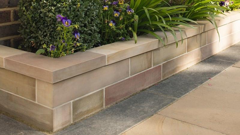 Stoneface Sawn Veneer Walling - Autumn Bronze