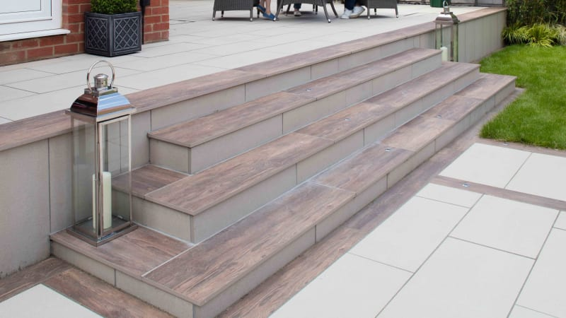Symphony Plank In Cherry And Symphony Classic In Barley