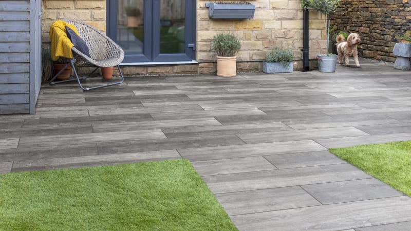 Symphony Plus Planks Porcelain Paving | Marshalls