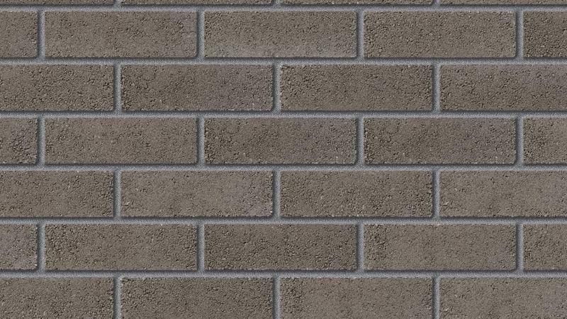 contemporary range titanium grey facing brick