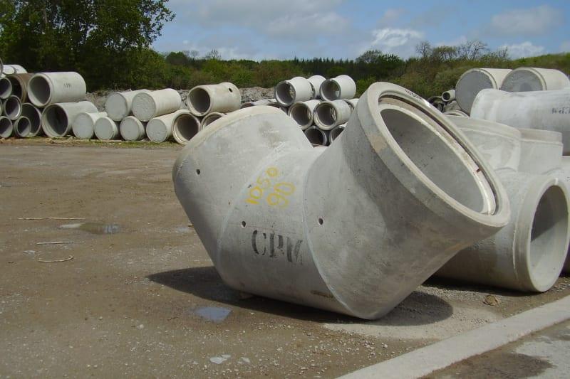 Concrete Pipe Bends BIM Model
