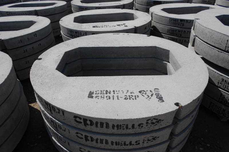 Concrete cover slabs