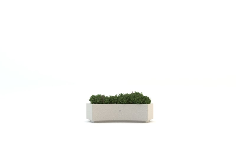Demetra Curved Planter BIM Model
