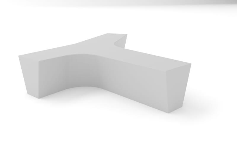 Twig Plastic Bench BIM Model
