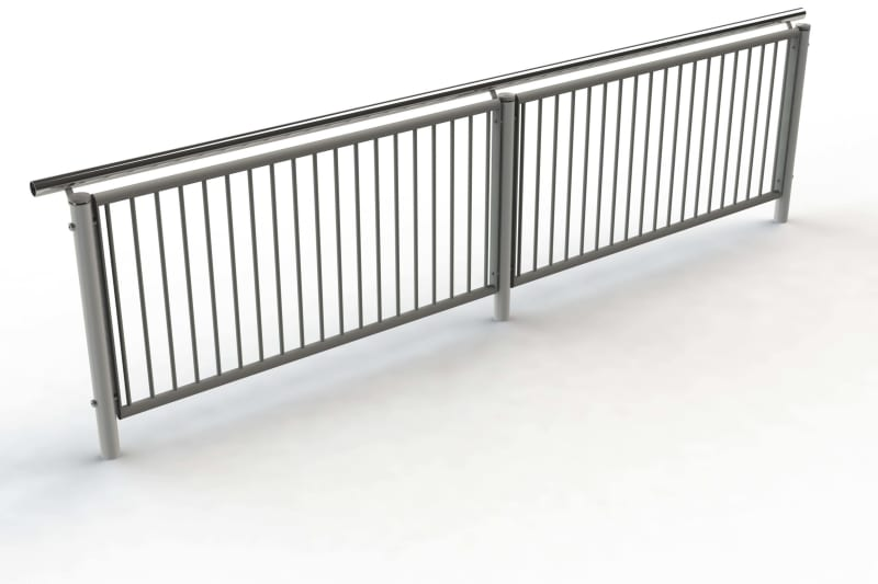 Geo Handrail and Balustrade BIM Model