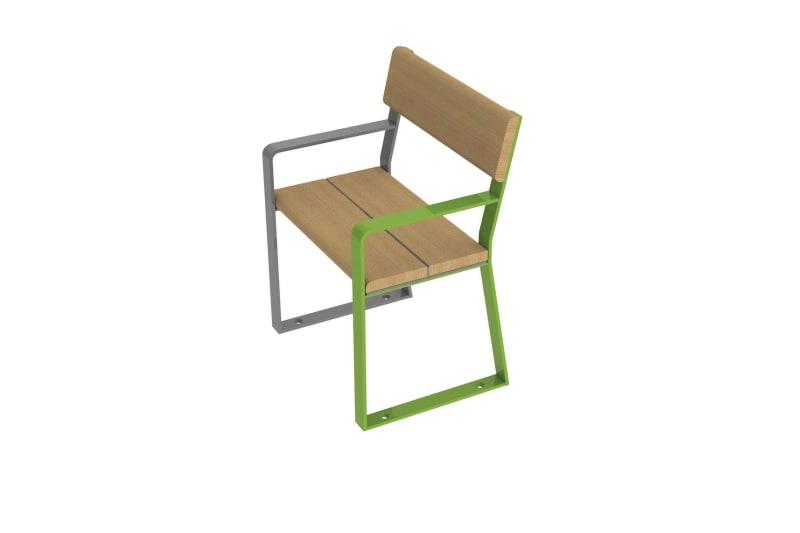Loci Single Seat BIM Model