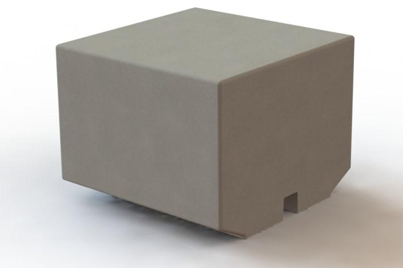 Metrolinia Intermediate Block BIM Model