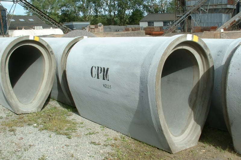 Ovoid pipes