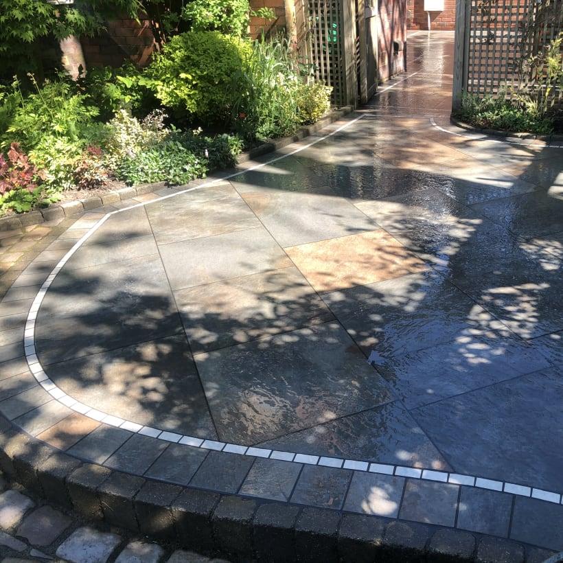 Marshalls paving installed by register member.