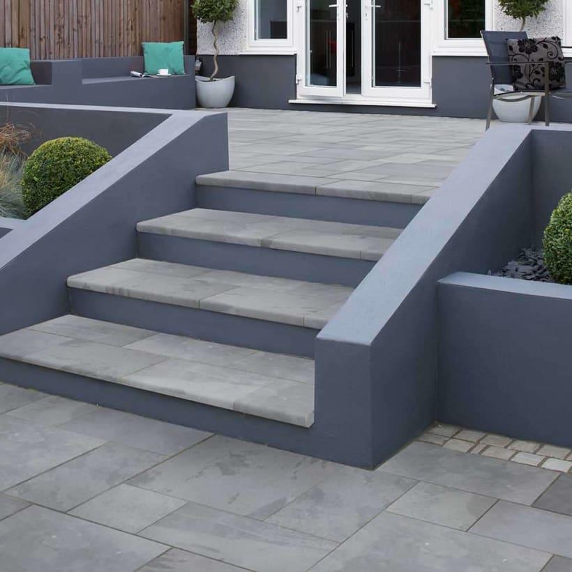 Casarta Slate Steps - Silver Grey