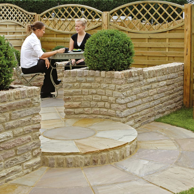 Traditional Natural Stone Tumbled - Autumn Bronze