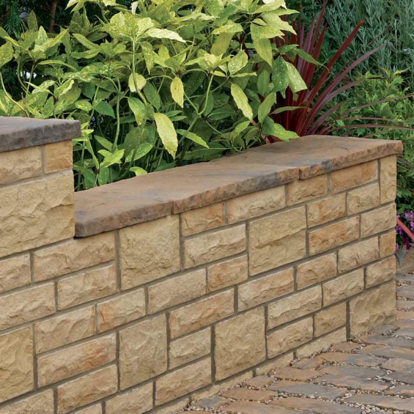 Heritage Riven Coping - Yorkstone